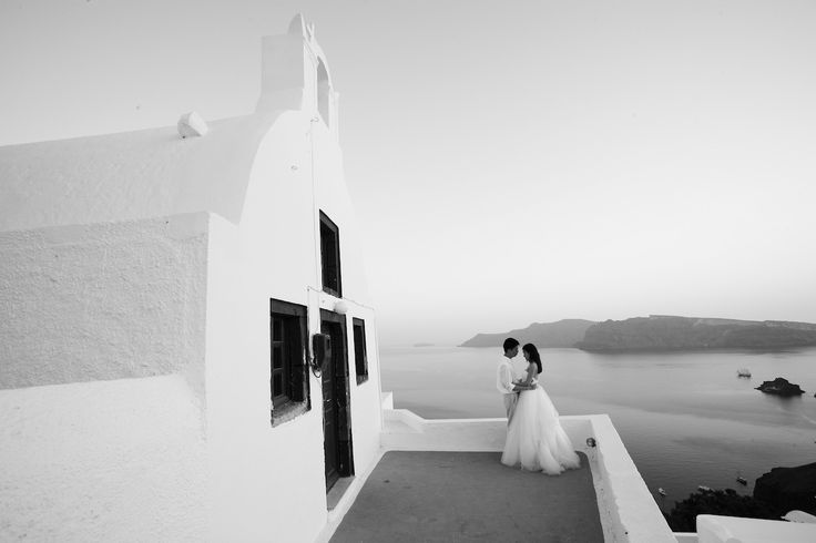 Lilian & Andy in Santorini | Nikos P. Gogas, Photographer
