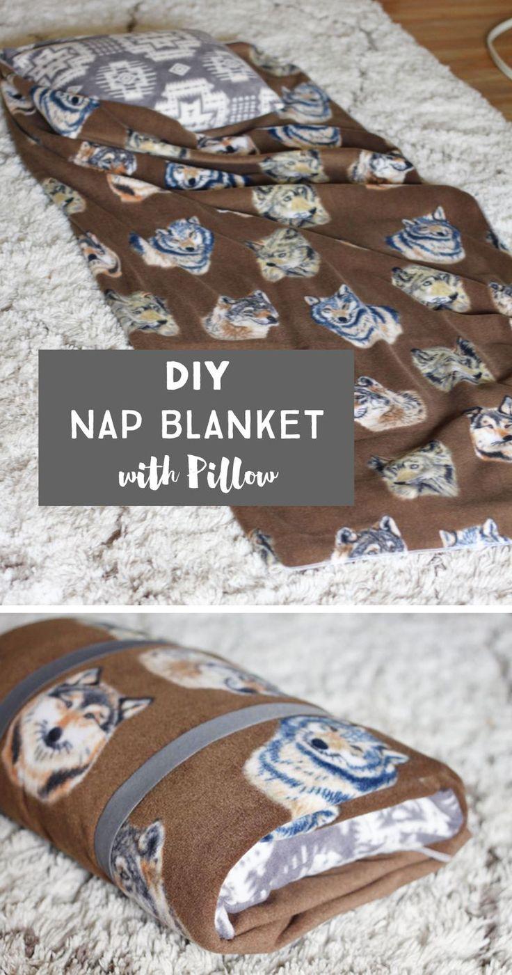 Sewing For Kindergarten Simple Fleece Nap Blanket