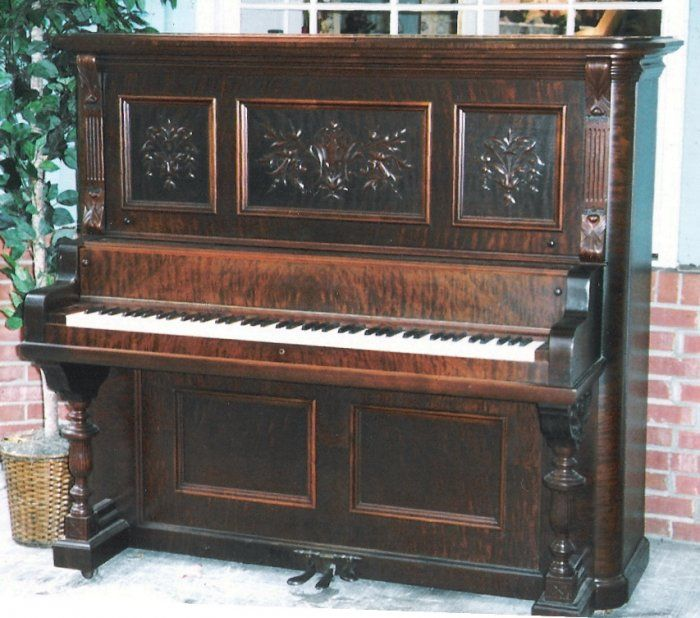 132 best old piano images on Pinterest   Upright piano, Pianos and ...