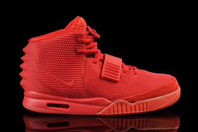 AIR YEEZY 2 (RED OCTOBER): retail price $245 reselling price over $3000!!! Damn!!