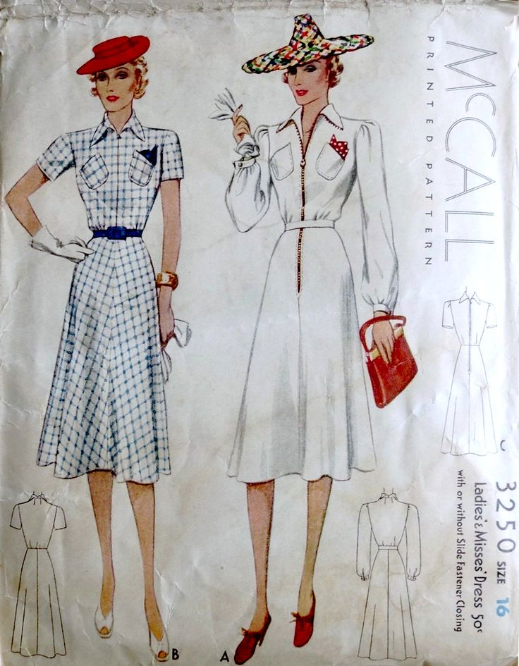 McCall 3250 (1939)