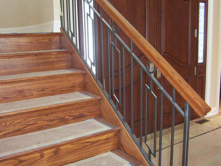 1000 Images About Railing On Pinterest Wrought Iron Banister Wrought Iron Stair Railing And