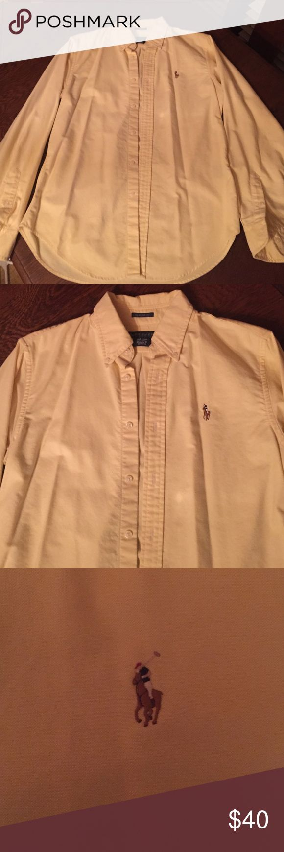 NWOT! Ralph Laurn Button Up NWOT! Want more info please feel free to comment below! Ralph Lauren Tops Button Down Shirts