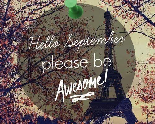 Hello September september hello september september quotes welcome september september images