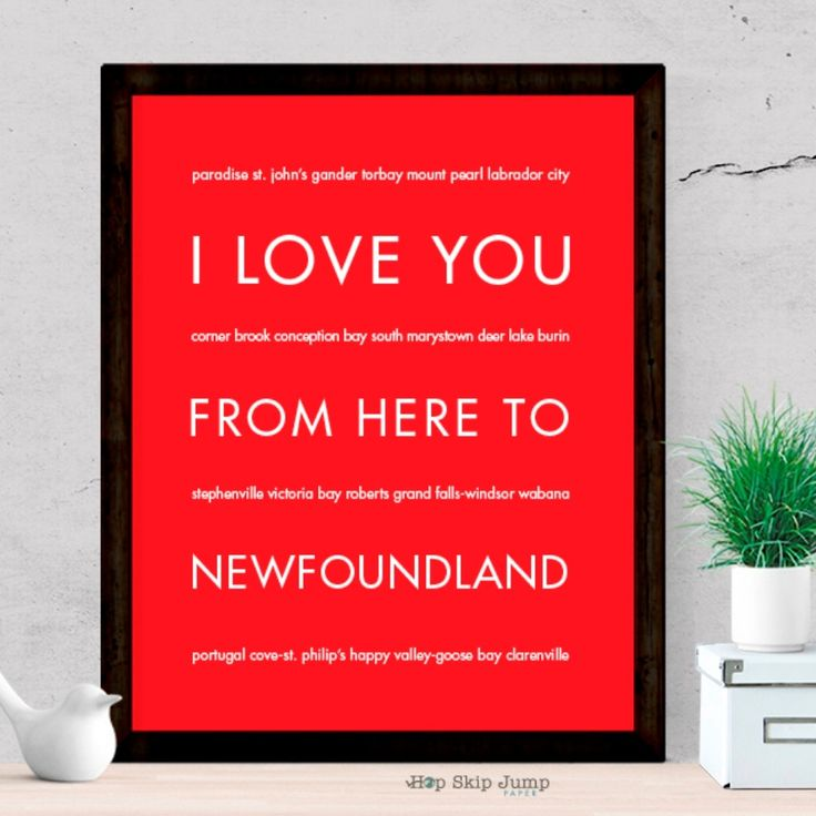 Whether it is your home province or you just returned from an exciting trip to Canada, this travel poster will keep your memories fresh. Give it as a memorable wedding gift or as a housewarming presen