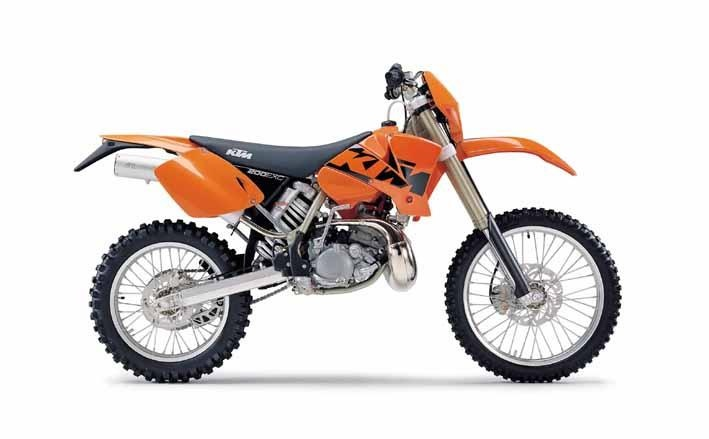 The KTM EXC200 was one of the most capable off road bikes every made. 10 years after mine was introduced, it's still competitive.