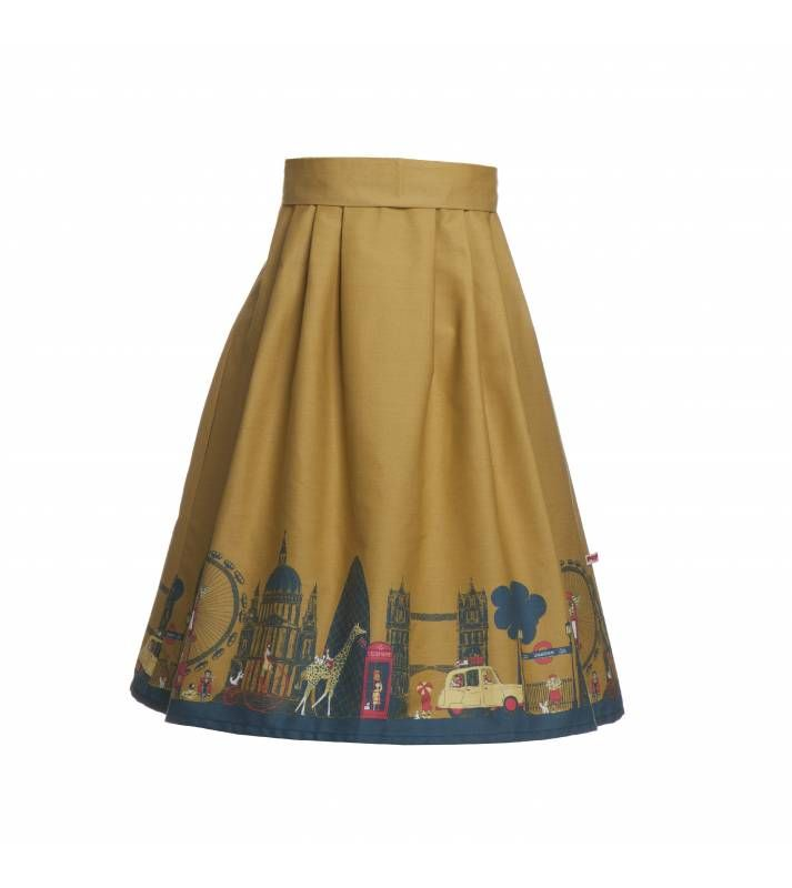 Elspeth Skirt London Mustard - !❤!