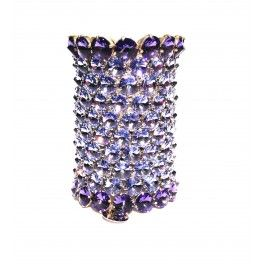 Bracciale Soraia h10 violet/tanzanite - White Fashion
