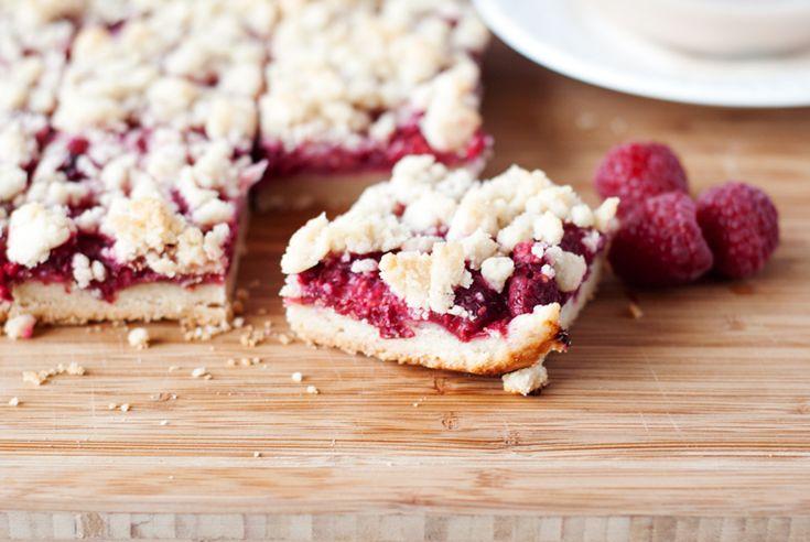 Easy Raspberry Shortbread Bars | asimplepantry.com