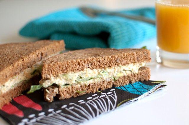 Kikärtssmörgås
