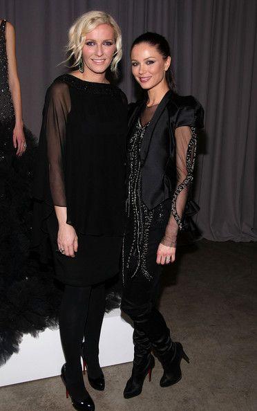 Keren Craig (L) and Georgina Chapman -for Marchesa