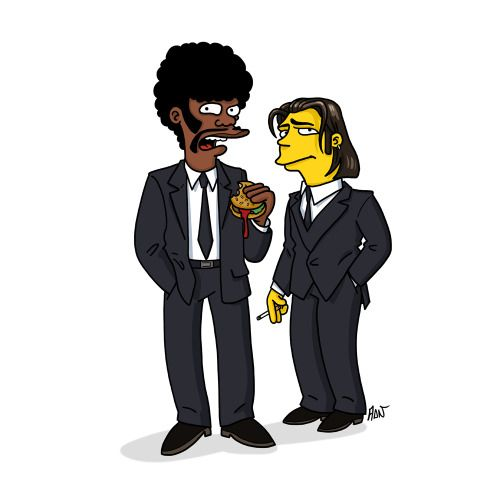 Pin By Luis Morales On Stuff Pulp Fiction Simpsons Characters The Simpsons