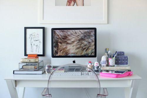 study deskOffices Desks, Desks Area, Offices Spaces, Work Spaces, Workspaces, Ghosts Chairs, Desks Spaces, Home Offices, Offices Interiors