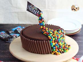 Gravity cake - bolo gravidade, Receita Petitchef