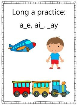 These worksheets provide a lot of practice with long a spellings.  They focus on a_e, ay and ai patterns.  There are 20 worksheets provided that in...