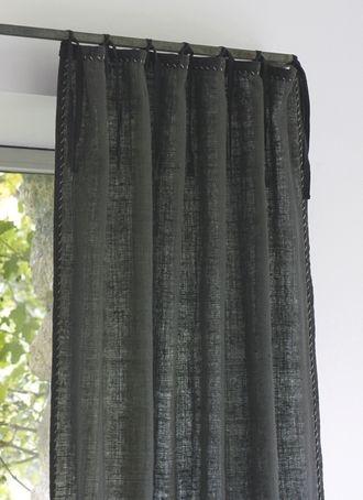efid - wooly grey curtain