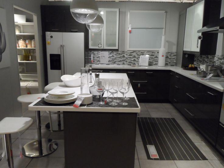 ikea showroom grey or grey kitchen walls modern kitchen