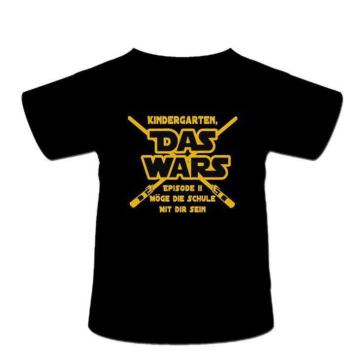 """Einschulungs Shirt für Jungen & Mädchen,Kinder T-Shirt """" Das wars """", schwarz: Amazon.de: Bekleidung"""