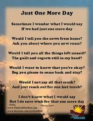 miss you mom thumbprint - Google Search