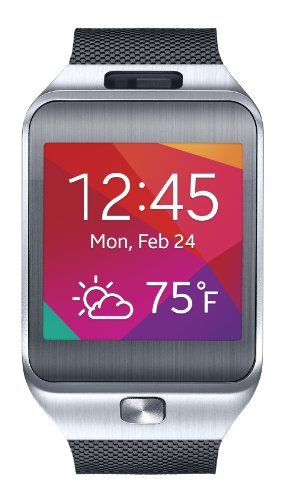 BUY NOW Samsung Gear 2 Smartwatch Silver/Black (US Warranty) The Samsung Gear 2 is the smart companion watch tailored to your