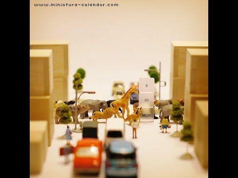 Miniature Calendar 2012 - August