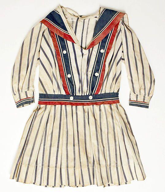 Dress Date: ca. 1910 Culture: American