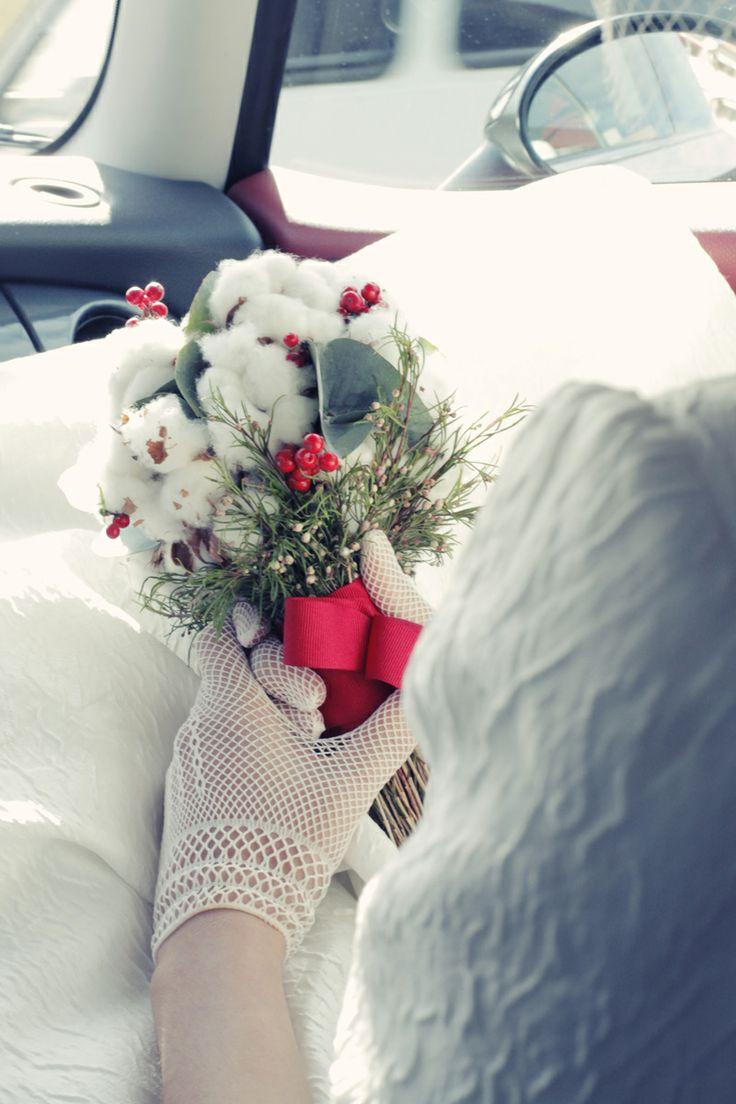 winter bouquet coton buquet ramo de algodón foto by norma grau