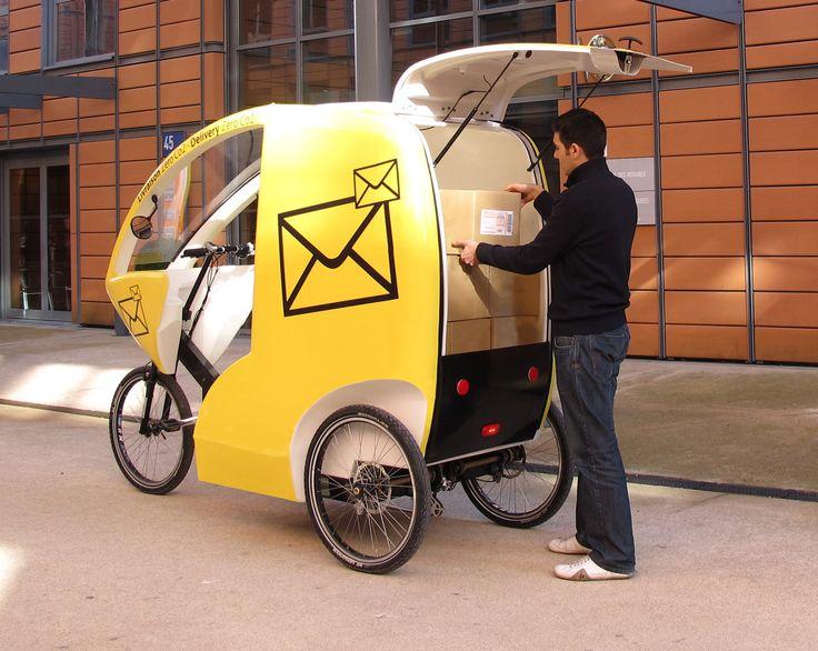 Cyclocargo L Alternative Urbaine à La Voiture Voiture