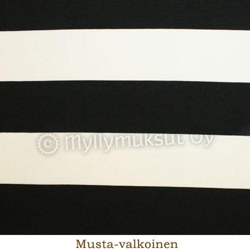 Tricot, Raita leveä - Fabrics - Tricot fabrics - Myllymuksut