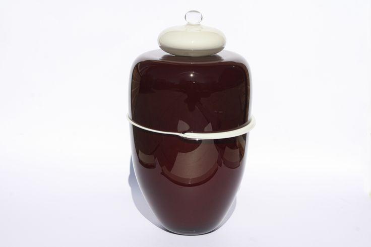 Glazen Urn - Viool (DB1402) is online te bestellen in onze webshop www.glasfragmenten.nl
