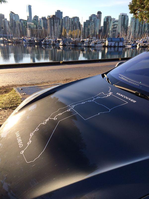 Model S, Vancouver