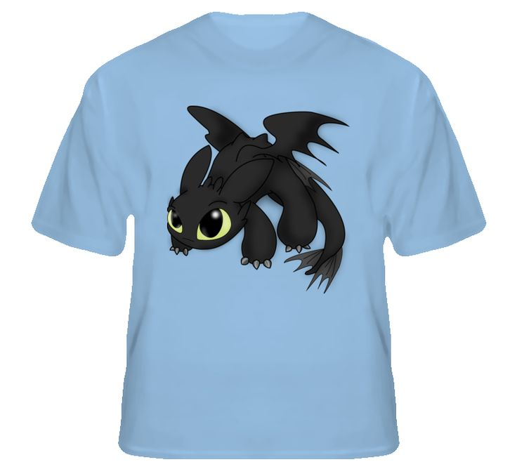 how to train your dragon toothless t shirt