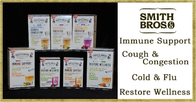 Royalegacy Reviews and More: This Cold & Flu Season Turn To Smith Bros. For Your Wellness Regimen - Review
