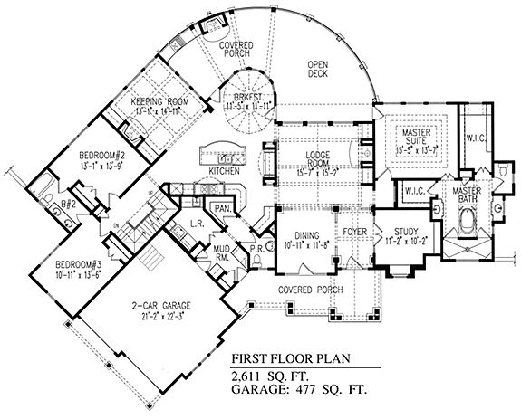 Sugar Run Cottage   One Story House Plans