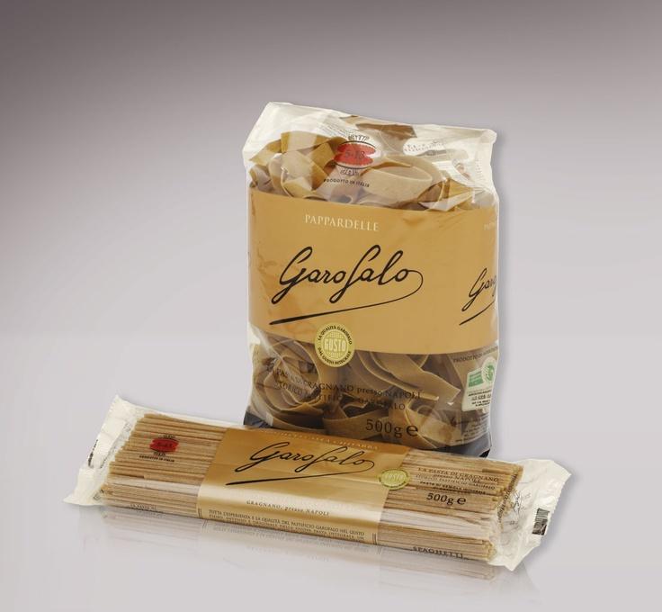 Packaging pasta integrale Garofalo. Angelini design Roma