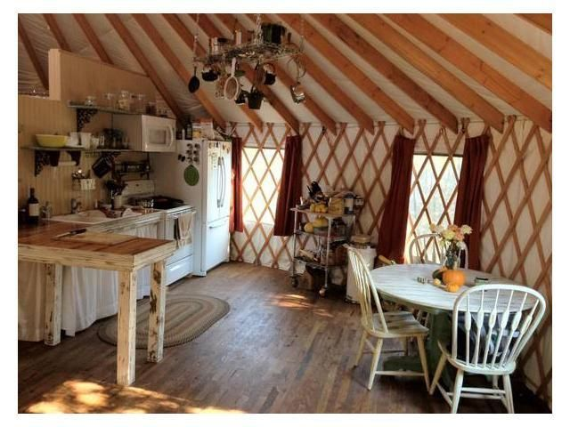 Image result for yurt interior mud room