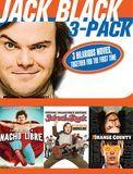 Jack Black 3-Pack: Nacho Libre/School of Rock/Orange County [3 Discs] [DVD]