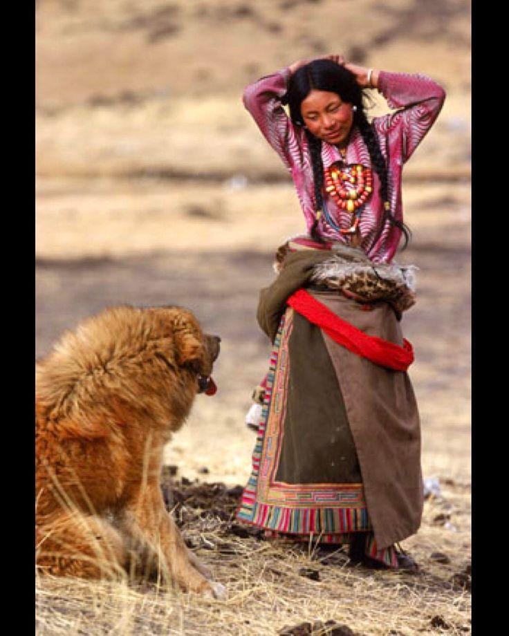 Tibetan woman & her Mastiff!  facebook.com/TibetanPortraits #TibetanWomen #TibetanMastiff #TibetanDogs ༜~࿂~༜~࿂~༜~࿂~༜~࿂~༜~࿂~༜~࿂ #TibetanPortraits #Phayul #Tibet #Tibetan #Kham #UTsang #Amdo ༜~࿂~༜~࿂~༜~࿂~༜~࿂~༜~࿂~༜~࿂ Photography by ©Unknown ༜~࿂~༜~࿂~༜~࿂~༜~࿂~༜~࿂~༜~࿂ ☀️ #DalaiLama #Himalaya #IGTibet_Family #Mastiff #DogsOfInstagram #Dogs #Dog #DogLover #DogOfTheDay #DogLife  #Lonely_Planet #People_Infinity #FolkPortraits #VscoPortraits #StreetPhoto #PortraitMood #People_Infinity #Majestic_Peo...