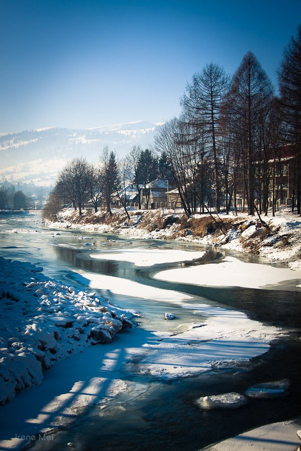 Chorna Tysa river - Carpathian Mountains - Ukraine