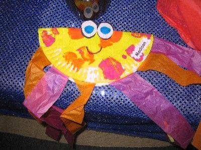 Lots of ocean crafts from Kim Jordano: Classroom Idea, Paper Plates Jellyfish, Jellyfish Facts, Jellyfish Paper, Lil Jellyfish, Jellyfish Idea