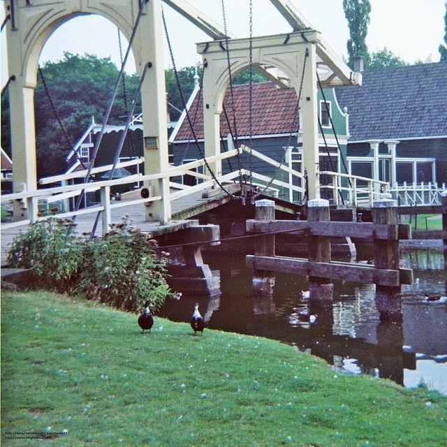 Open air museum in Arnhem, Holland