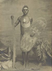 Photograph of Ye-i-nie, King of Cairns, 1906.