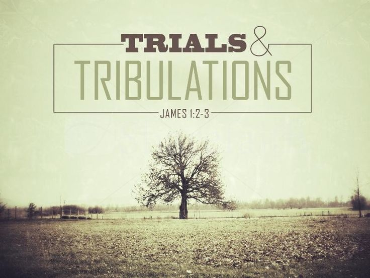 Songs about trials and tribulations