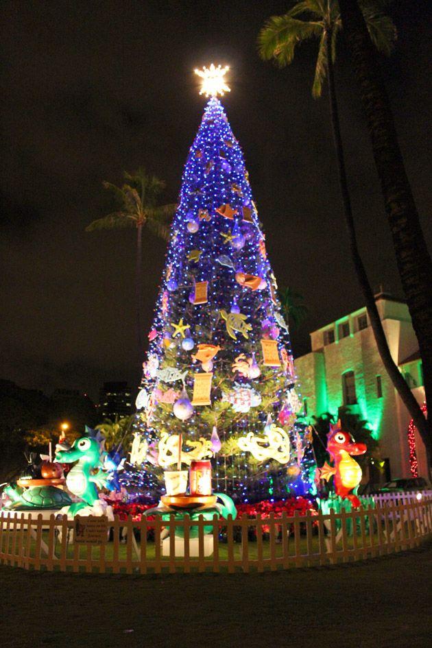 Christmas Tree Hawaii Part - 21: 448 Best Hawaiian Christmas Images On Pinterest | Christmas Trees, Christmas  Decorations And Coastal Christmas