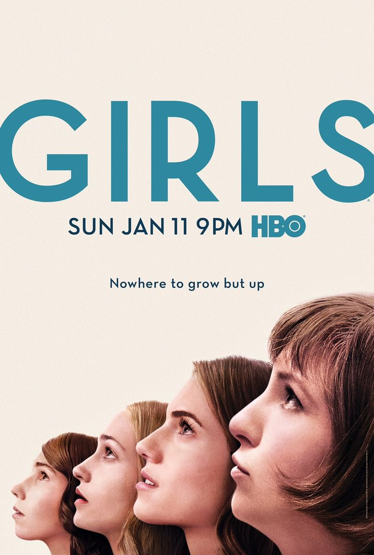 Popular Nowhere To Grow But Up In First Girls Season Poster