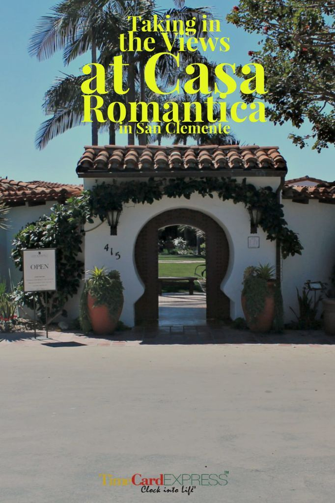 A day Trip from L.A. to Casa Romantica in San Clemente