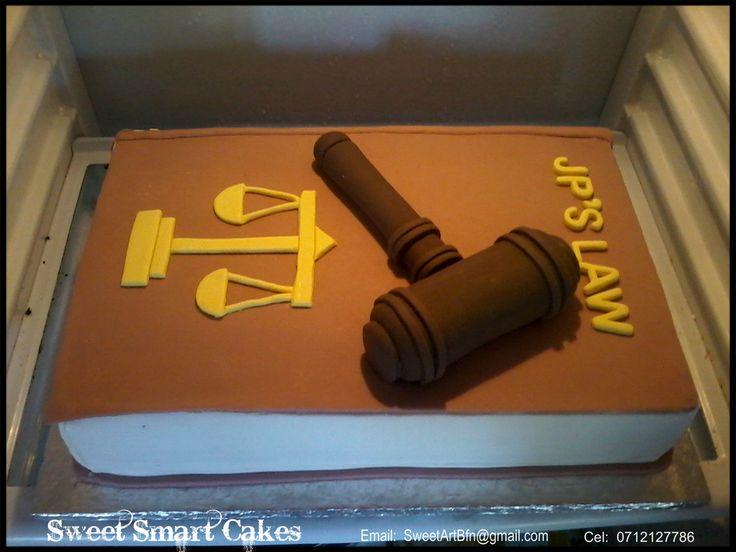 Law Book Cake (Bloemfontein, ZA)