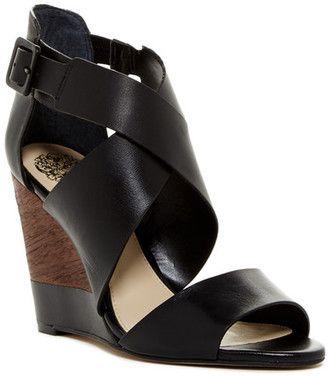 Vince Camuto Milena Wedge Sandal #heels #peeptoe