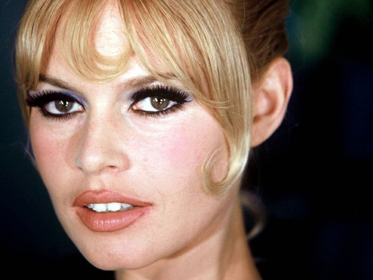 Je veux apprendre à me maquiller comme Brigitte Bardot.