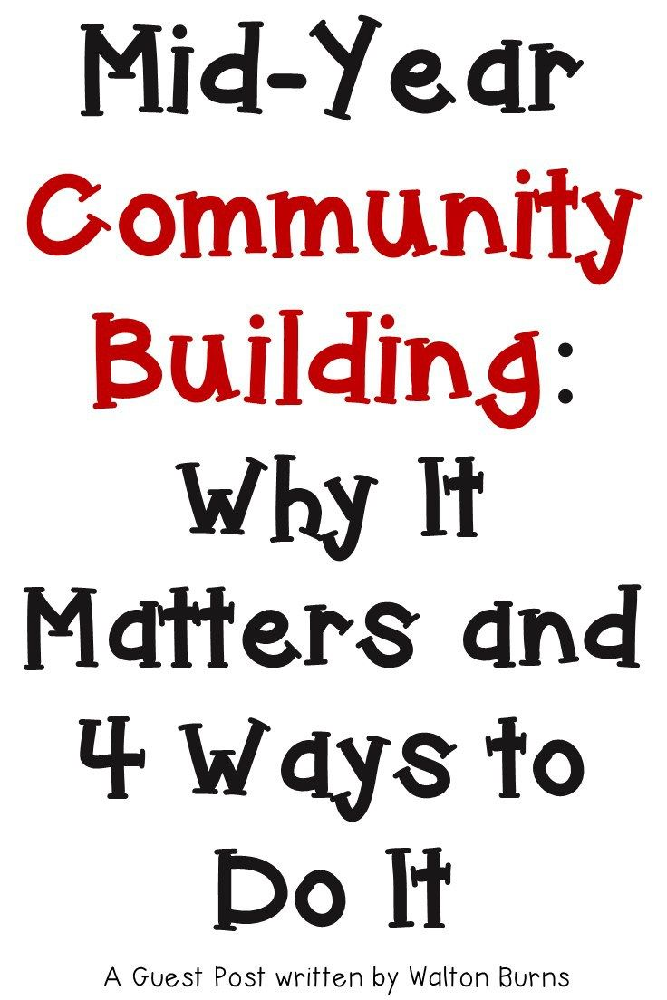 If you're on the lookout for community building activities for the middle of the school year, you're going to love the ideas here! Help your 2nd, 3rd, 4th, 5th, 6th, 7th, or 8th grade classroom students better relate to one another! This is a great way to connect with your students while keeping classroom management and behavior issues at bay. Click through to see the activities and ideas included! {second, third, fourth, fifth, sixth, seventh, eighth grader}